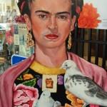 Frida Kahlo de Rivera watches over San Francisco's Mission District. (Julia Scott)